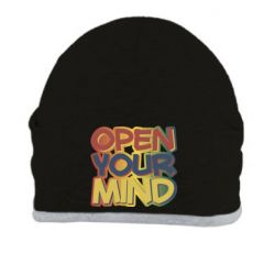 Шапка Open your mind