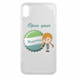 Чохол для iPhone Xs Max Open your