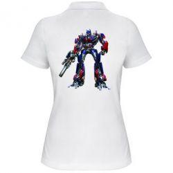 Женская футболка поло Optimus