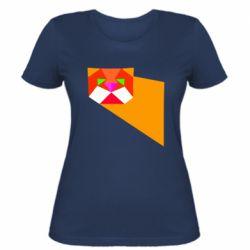 Жіноча футболка Оrange cat