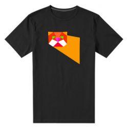 Чоловіча стрейчева футболка Оrange cat