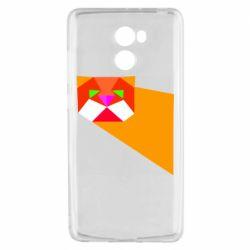 Чохол для Xiaomi Redmi 4 Оrange cat