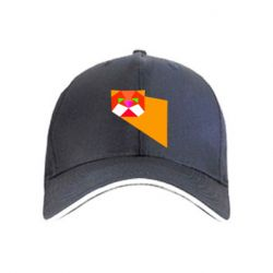 Кепка Оrange cat
