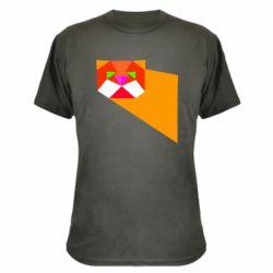 Камуфляжна футболка Оrange cat