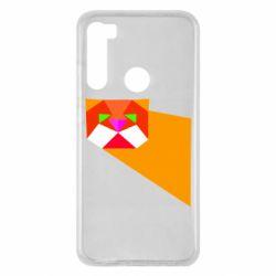 Чохол для Xiaomi Redmi Note 8 Оrange cat