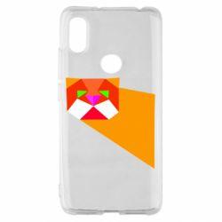 Чохол для Xiaomi Redmi S2 Оrange cat