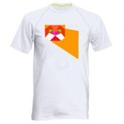 Чоловіча спортивна футболка Оrange cat