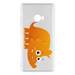 Чехол для Xiaomi Mi Note 2 Orange dinosaur