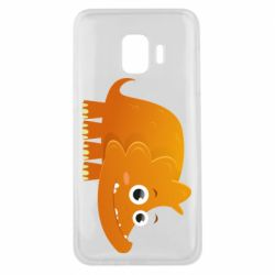 Чехол для Samsung J2 Core Orange dinosaur