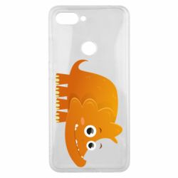 Чехол для Xiaomi Mi8 Lite Orange dinosaur