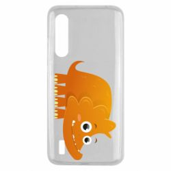 Чехол для Xiaomi Mi9 Lite Orange dinosaur
