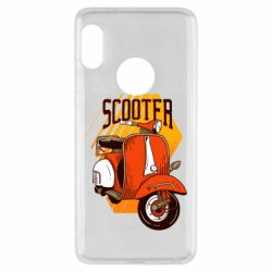 Чохол для Xiaomi Redmi Note 5 Orange scooter
