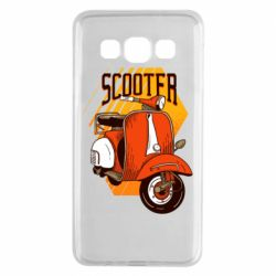 Чохол для Samsung A3 2015 Orange scooter