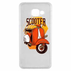 Чохол для Samsung A3 2016 Orange scooter