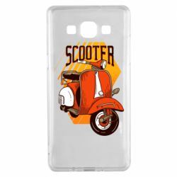 Чохол для Samsung A5 2015 Orange scooter