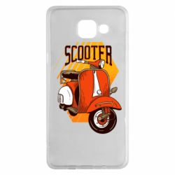 Чохол для Samsung A5 2016 Orange scooter