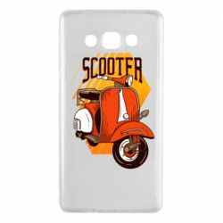 Чохол для Samsung A7 2015 Orange scooter