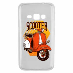 Чохол для Samsung J1 2016 Orange scooter