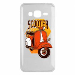 Чохол для Samsung J3 2016 Orange scooter
