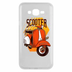 Чохол для Samsung J7 2015 Orange scooter