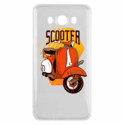 Чохол для Samsung J7 2016 Orange scooter