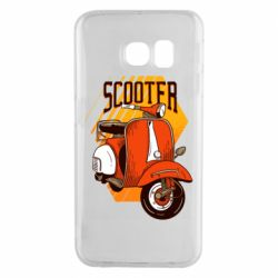 Чохол для Samsung S6 EDGE Orange scooter