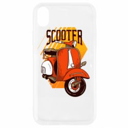 Чохол для iPhone XR Orange scooter