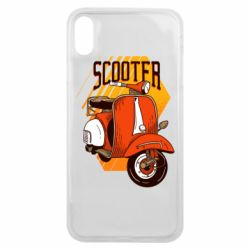 Чохол для iPhone Xs Max Orange scooter