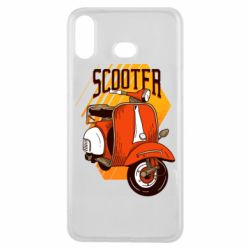 Чохол для Samsung A6s Orange scooter