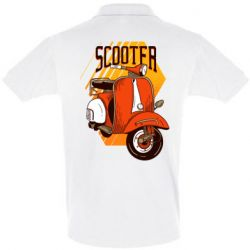 Футболка Поло Orange scooter