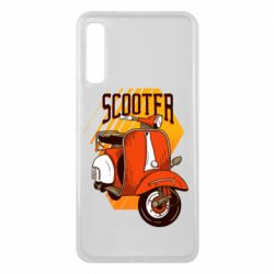 Чохол для Samsung A7 2018 Orange scooter