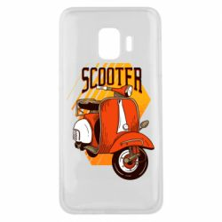 Чохол для Samsung J2 Core Orange scooter