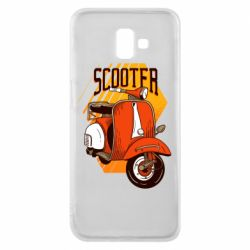 Чохол для Samsung J6 Plus 2018 Orange scooter