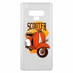 Чохол для Samsung Note 9 Orange scooter