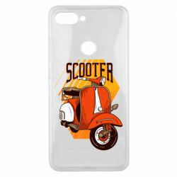 Чохол для Xiaomi Mi8 Lite Orange scooter