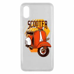 Чохол для Xiaomi Mi8 Pro Orange scooter