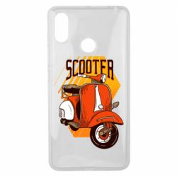 Чохол для Xiaomi Mi Max 3 Orange scooter