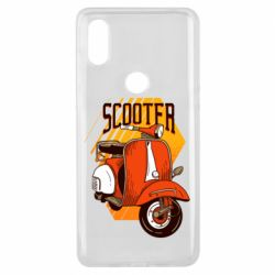 Чохол для Xiaomi Mi Mix 3 Orange scooter