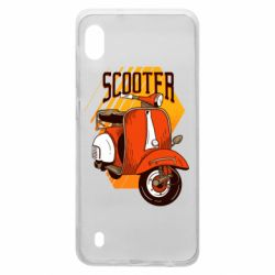 Чохол для Samsung A10 Orange scooter