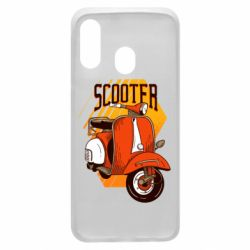 Чохол для Samsung A40 Orange scooter