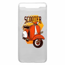 Чохол для Samsung A80 Orange scooter