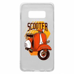 Чохол для Samsung S10e Orange scooter