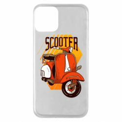 Чохол для iPhone 11 Orange scooter