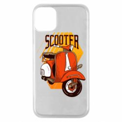 Чохол для iPhone 11 Pro Orange scooter