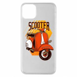Чохол для iPhone 11 Pro Max Orange scooter