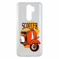 Чохол для Xiaomi Redmi Note 8 Pro Orange scooter