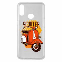 Чохол для Samsung A10s Orange scooter