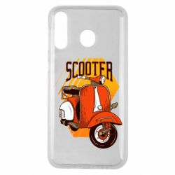 Чохол для Samsung M30 Orange scooter