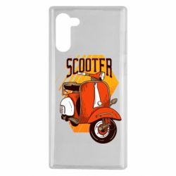 Чохол для Samsung Note 10 Orange scooter