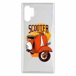 Чохол для Samsung Note 10 Plus Orange scooter